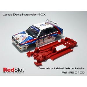 CHASIS 3D - LANCIA DELTA SCX