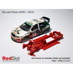 CHASIS 3D - SKODA FABIA WRC SCX