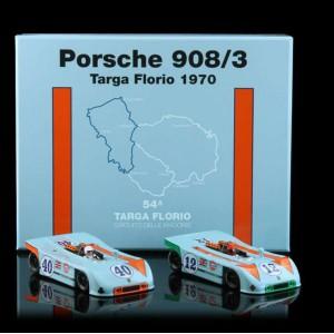 Set Porsches 908/3 TARGA FLORIO 1970 n 12 y 40