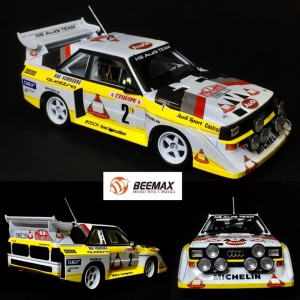 Kit 1/24 AUDI SPORT QUATTRO S1 N 2 4th R. Monte