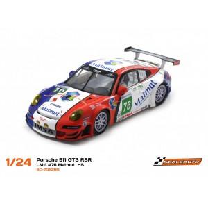Porsche 911 GT3 RSR LM2011 76 Matmut con Chasis HS