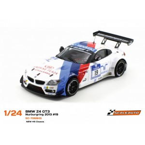 BMW Z4 GT3 Nurburgring 2013 con Chasis HS