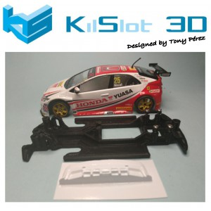 Chasis Lineal Race SOFT HONDA CIVIC BTCC SUPERSLOT