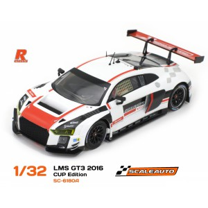 Audi R8 LMS GT3 Cup Edition White/Red R-Version AW