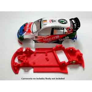 Chasis Fabia WRC Rally AW para SCX