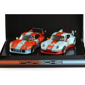 Porsche 911 GT2 Special Gulf Twin Pack No.20 and N