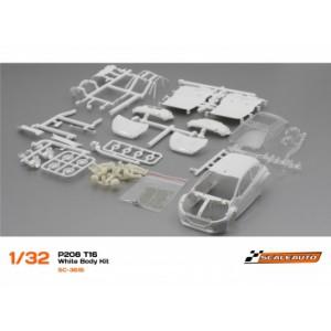 Carrocería Peugeot 208 T16 en Kit Blanca