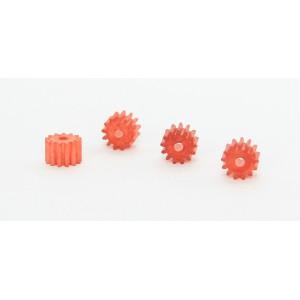 Piñones Nylon 13 dientes (x 4)