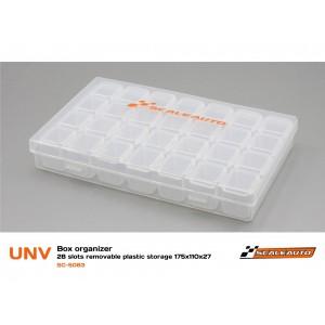 Caja Organizadora de 28 Compartimentos