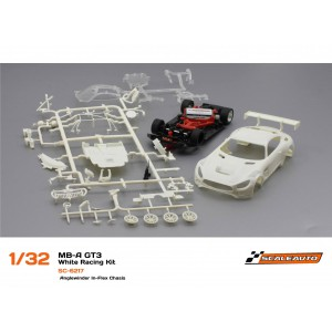 Mercedes AMG GT3 White Racing Kit Anglewinder