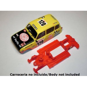 Chasis Block Evo Renault 4 lineal completo p SCX