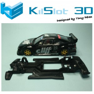 Chasis Lineal Race SOFT OPEL CALIBRA DTM NINCO