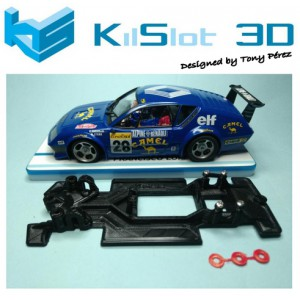 Chasis Lineal Race SOFT  2018 Renault Alpine A310