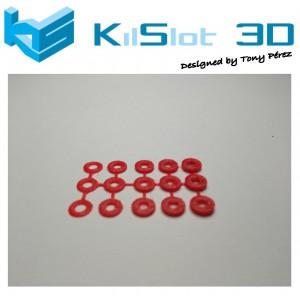 Pack arandelas de ajuste desde 0.3 a 1.5mm (15ud)