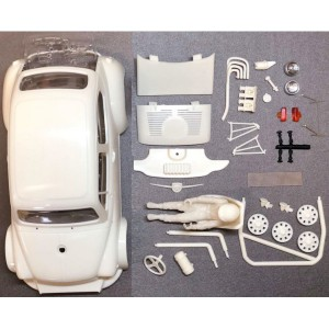 Carroceria en kit Fiat abarth 1000 TCR completa