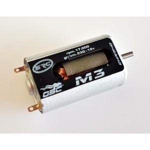 MOTOR M3 NEW VERSION 17000 RPM a 12V 230 gr/cm