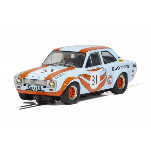 Scalextric H4013 Ford Escort MK1 GULF EDITION