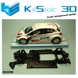 Chasis lineal DUAL COMP compatible Peugeot 208 SC