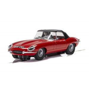 Scalextric H4032 Jaguar E-Type 848CRY Red