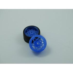 3DSRP Llanta Cheste 15,8 x 8,5mm Azul