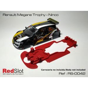 CHASIS 3D - Renault Megane Trophy - Ninco