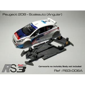 CHASIS 3D RS3 Peugeot 208 - Scaleauto (Angle