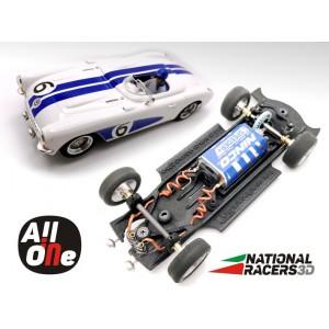 Chasis 3D Ninco Corvette C1 Inline AllInOne