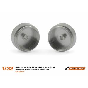 Llanta aluminio 17,5x10mm.