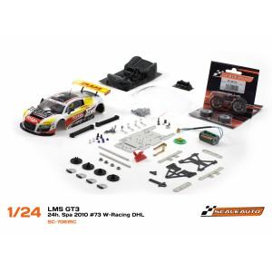 Audi R8 GT3 24h. Spa 2010 73 W Racing DHL SC8003