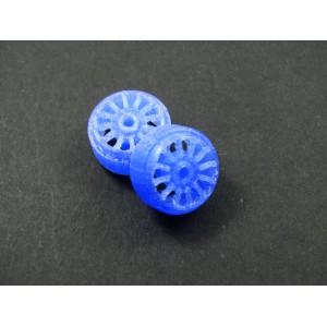 3DSRP Llanta Imola 15,8 x 8,5mm x 2/Unid. Blue