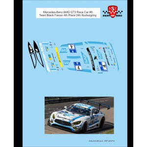 Calca 1/32 Mercedes-Benz AMG GT3 Race Car 9