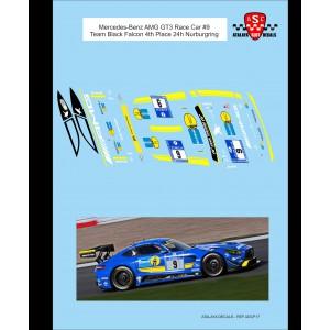 Calca 1/32 AMG GT3 Race Car 9 Team Black Falcon