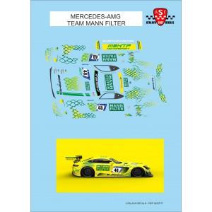 Calca 1/32 Mercedes-AMG Team HTP MANN FILTER