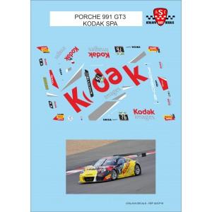 Calca 1/32 Porsche 911 GT3 KODAK