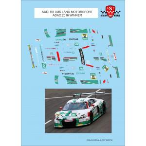 Calca 1/32 Audi R8 LMS Land Motorsport ADAC