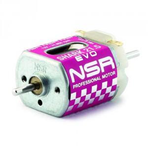 NSR3041 Motor Shark 21500 164 Gr/cm 12V Caja corta