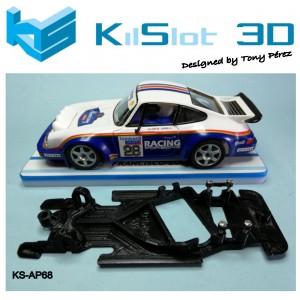 Chasis angular Race SOFT Porsche  911 SCX