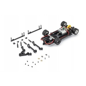 Chasis 1/32 HRS2 Montado InLine Motor V12 Offset
