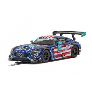 Scalextric H4023 MERCEDES AMG GT3, RILEY MOTORSPOR