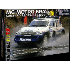 BELKITS Kit 1/24 MG METRO 6R4 1986 ROTHMANS