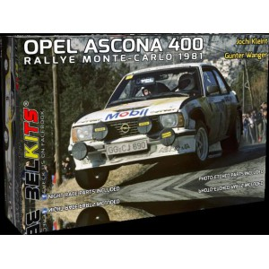 BELKITS Kit 1/24 OPEL ASCONA 400 Kleint Montecarlo 1981