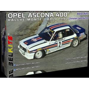 BELKITS Kit 1/24 OPEL ASCONA 400 Rohrl Montecarlo 1982