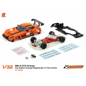 Scaleauto SC 6218D Mercedes AMG GT3 Cup ORANGE
