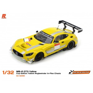 Scaleauto SC 6218G Mercedes AMG GT3 Cup YELLOW