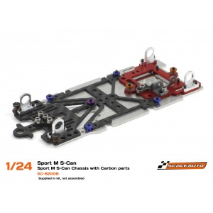 Scaleauto SC 8200B 1/24 Sport M Chassis for S-Can