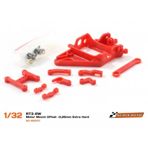 SC 6537C Soporte Motor AW RT3 Offset -0.25mm