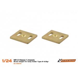Contrapeso para SC-NR2 Klasse1 en Acero Type-A