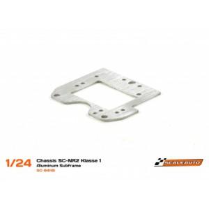 Sub-Chasis Motor para SC-NR2 Klasse1 en Acero