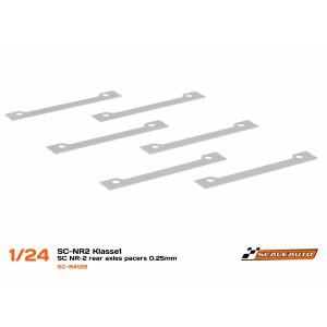 Separadores 0,25mm Acero para SC-NR2 Klasse1