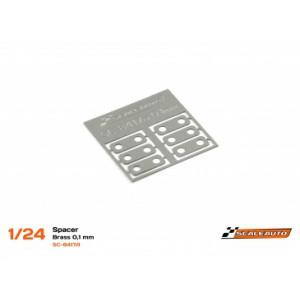 Separadores Eje Trasero 0,1mm Acero SC-NR2 Klasse1